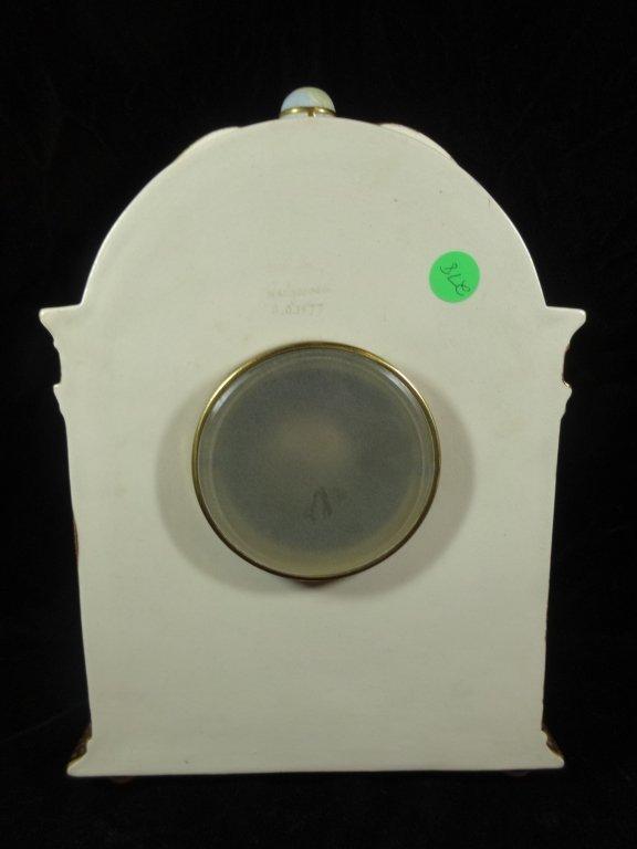 ANTIQUE WEDGWOOD CLOCK, MARKED WEDGWOOD AD 1877 ON - 5