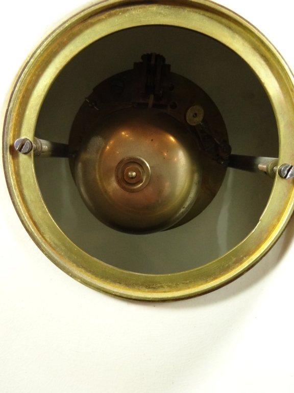 ANTIQUE WEDGWOOD CLOCK, MARKED WEDGWOOD AD 1877 ON - 6