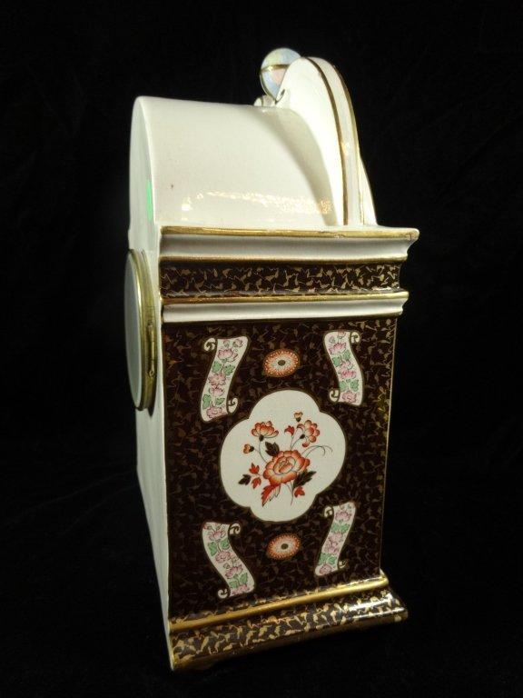 ANTIQUE WEDGWOOD CLOCK, MARKED WEDGWOOD AD 1877 ON - 7