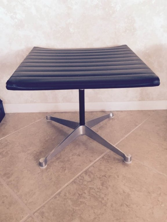 3 PC 1970's HERMAN MILLER HIGH BACK ALUMINUM GROUP NAUG - 10