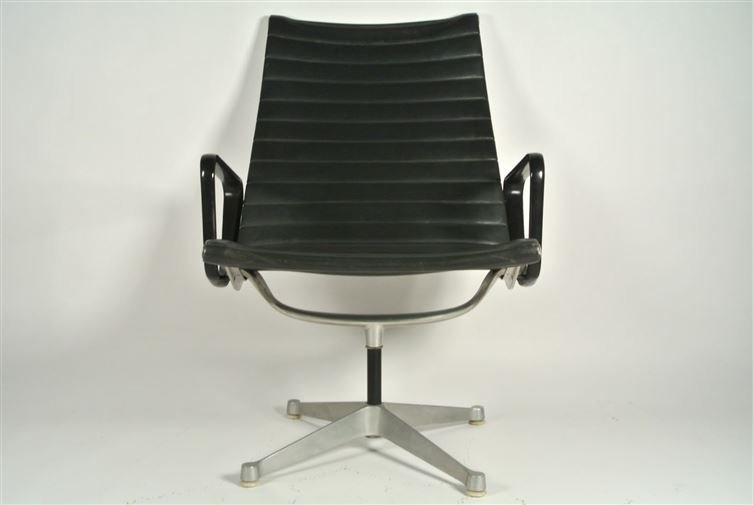 3 PC 1970's HERMAN MILLER HIGH BACK ALUMINUM GROUP NAUG - 5