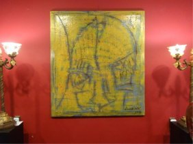 Huge Alexander Gore Oil Painting On Belgian Linen,