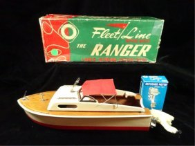 "Vintage 1950's Fleet Line ""ranger"" Battery Powered"