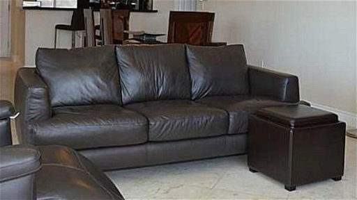 Modern Italian Leather Sofa By Italsofa Brown