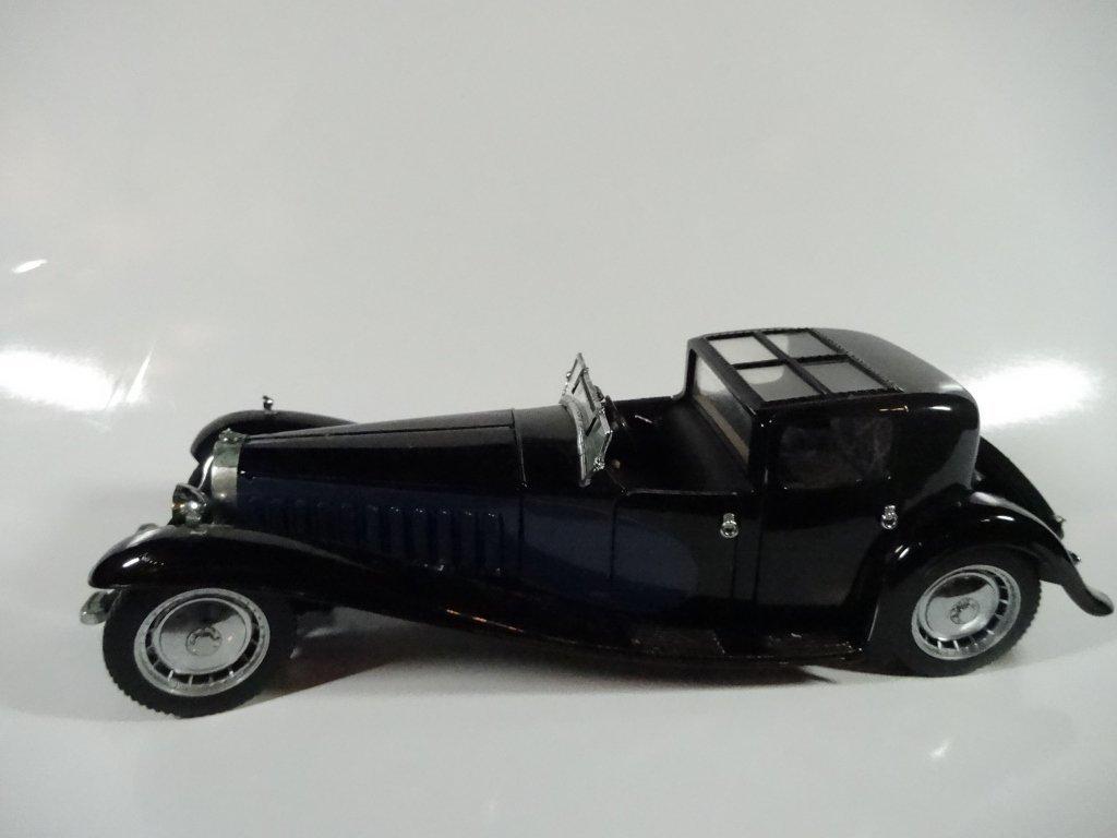 FRANKLIN MINT DIE CAST MODEL 1930 BUGATTI ROYALE COUPE