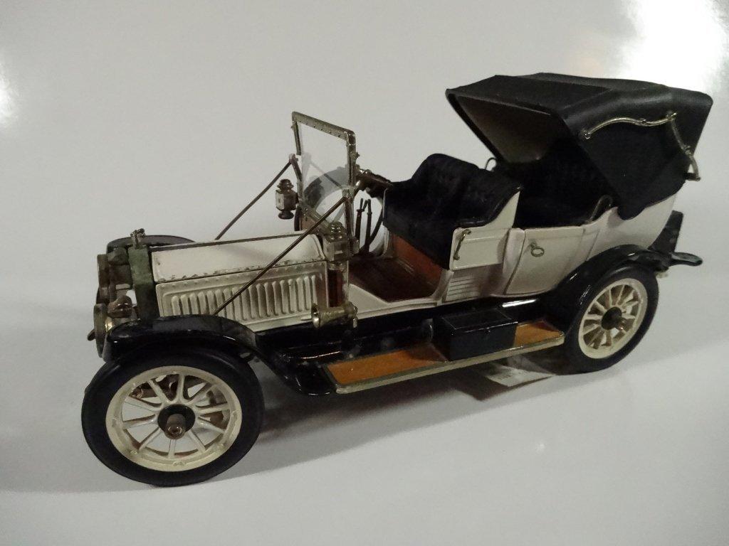 FRANKLIN MINT DIE CAST MODEL 1912 PACKARD VICTORIA