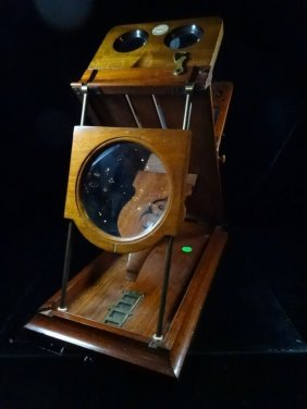 Antique Graphoscope Stereo Viewer, Roswell's Patent,