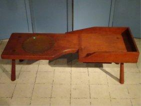 19th Century Cobbler's Bench, Approx 3'w, Sku696.12