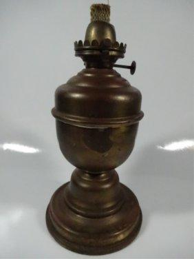 Vintage Miller & Co. Oil Lamp Base, Made In U.s.a.,