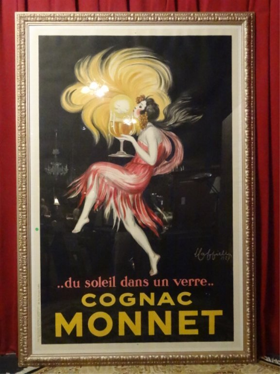 HUGE LEONETTO CAPPIELLO COGNAC MONNET FRENCH COLOR - 2