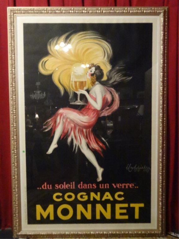 HUGE LEONETTO CAPPIELLO COGNAC MONNET FRENCH COLOR - 3