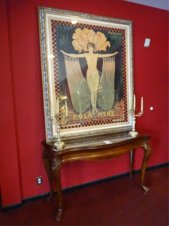 HUGE VINTAGE POLA NERY FRENCH COLOR LITHOGRAPH ADVERTIS - 3
