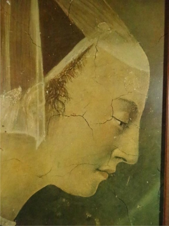 FRAMED PRINT, CLASSICAL PAINTING, ON BOARD, FRAMED SIZE - 3