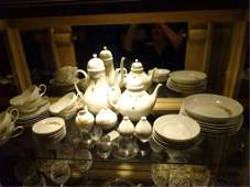 37 PC ROSENTHAL CHINA ROMANZE PATTERN BY BJORN WINBLAD
