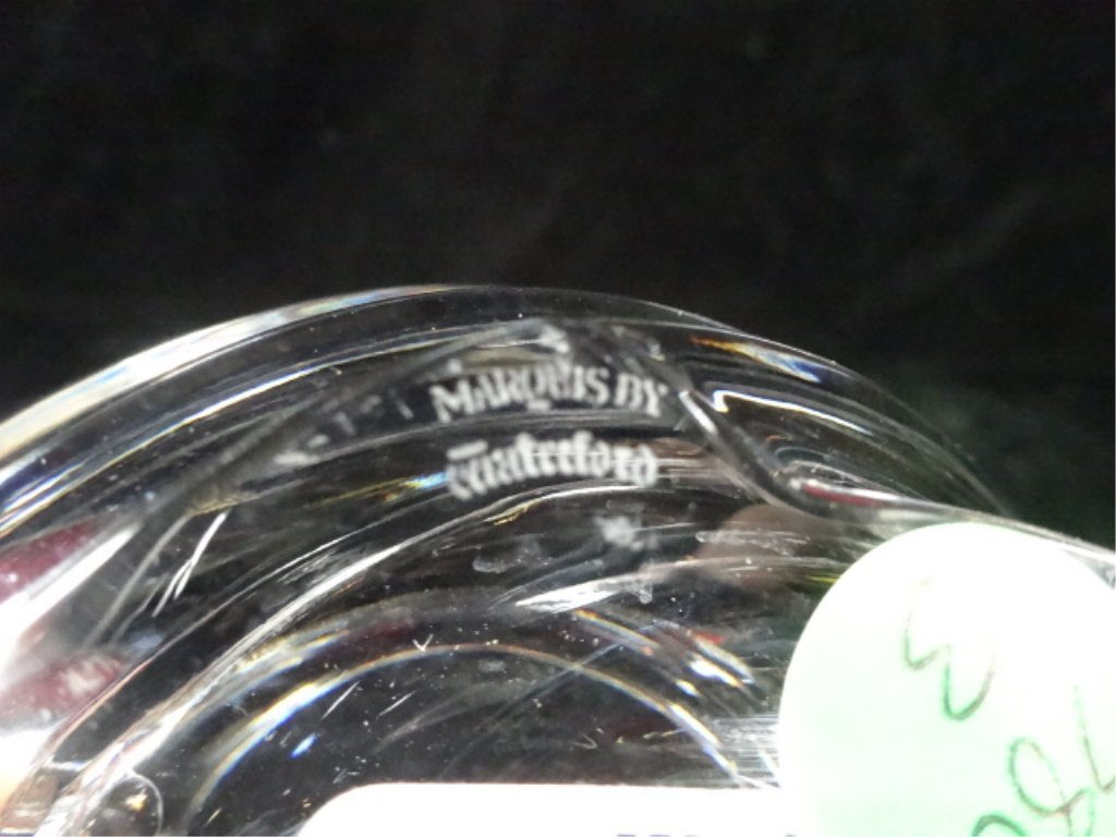 "MARQUIS BY WATERFORD ZEPHYR 8"" CRYSTAL BOWL, APPROX 6"" - 6"