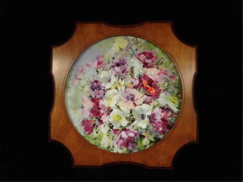 ROYAL DOULTON COLLECTOR PLATE, SPRING HARMONY, 1975,