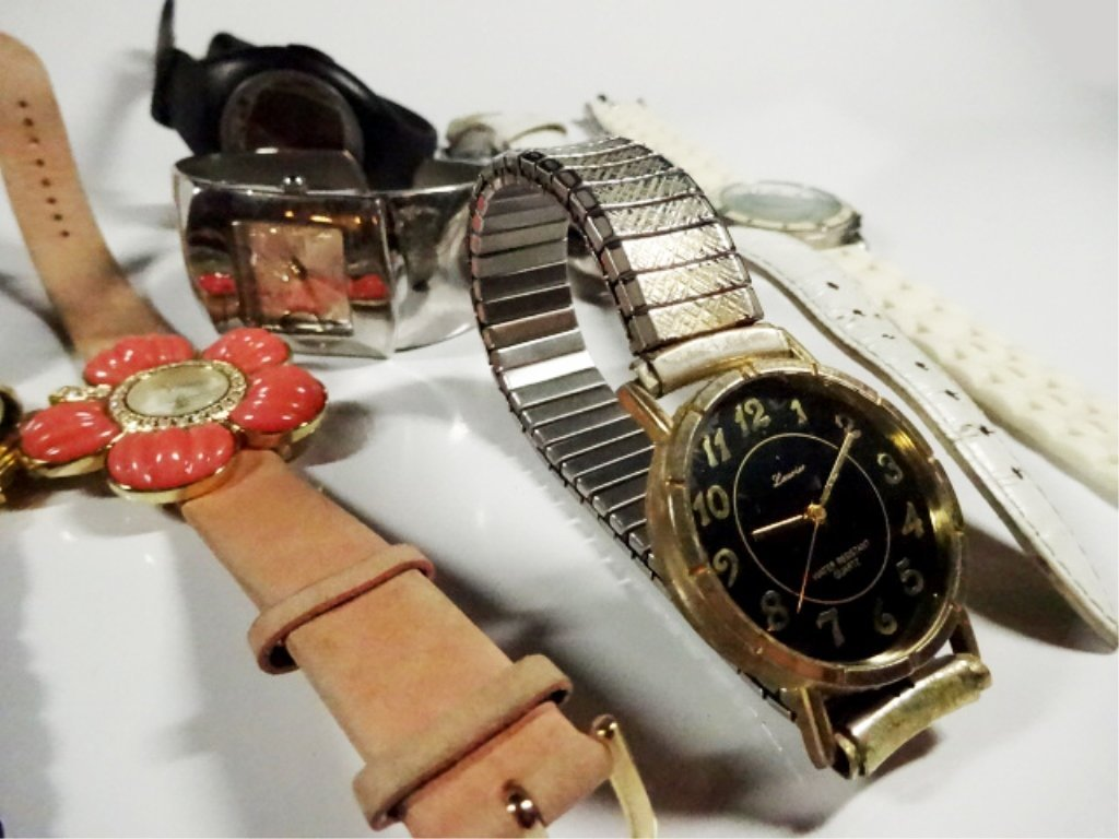 12 ASSORTED WATCHES, INCLUDES M&M'S AND SUPERMAN - 5