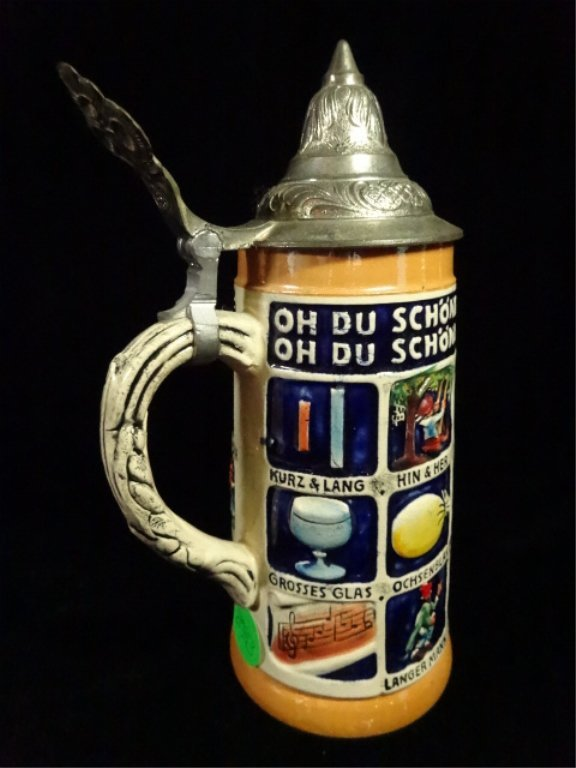3 PC BEER STEINS, MADE IN GERMANY, INCLUDES GERZ AND - 9
