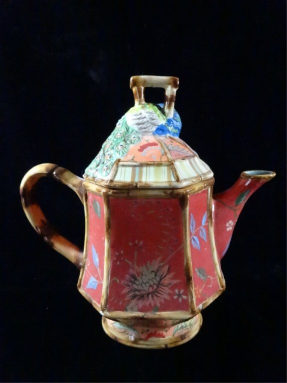 TRACY PORTER TEAPOT, THE ARTESIAN ROAD COLLECTION, - 3