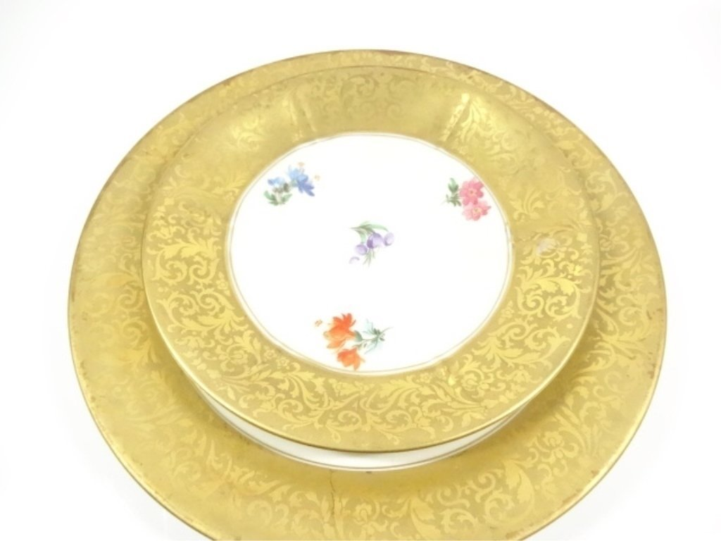 3 PC ROSENTHAL CHINA ALT BRABANT GOLD CUP, SAUCER & - 6