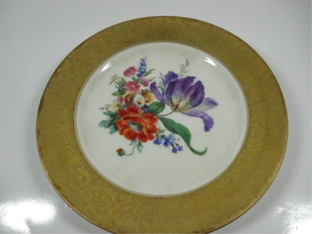 3 PC ROSENTHAL CHINA ALT BRABANT GOLD CUP, SAUCER & - 7