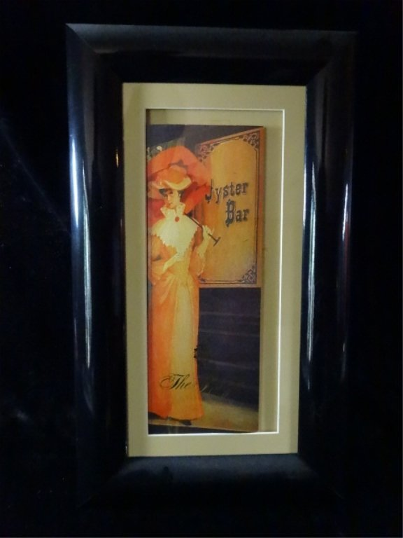 FRAMED PRINT, OYSTER BAR, THE PLAZA, NEW YORK, FRAMED