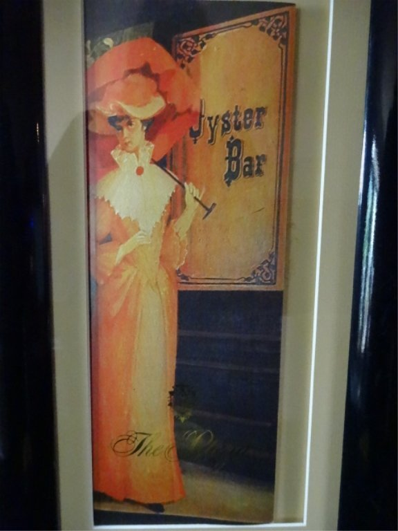 FRAMED PRINT, OYSTER BAR, THE PLAZA, NEW YORK, FRAMED - 2
