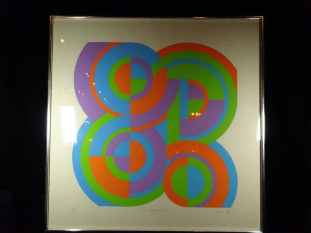 THOMAS LAHY LIMITED EDITION SERIGRAPH, TITLED FOUR