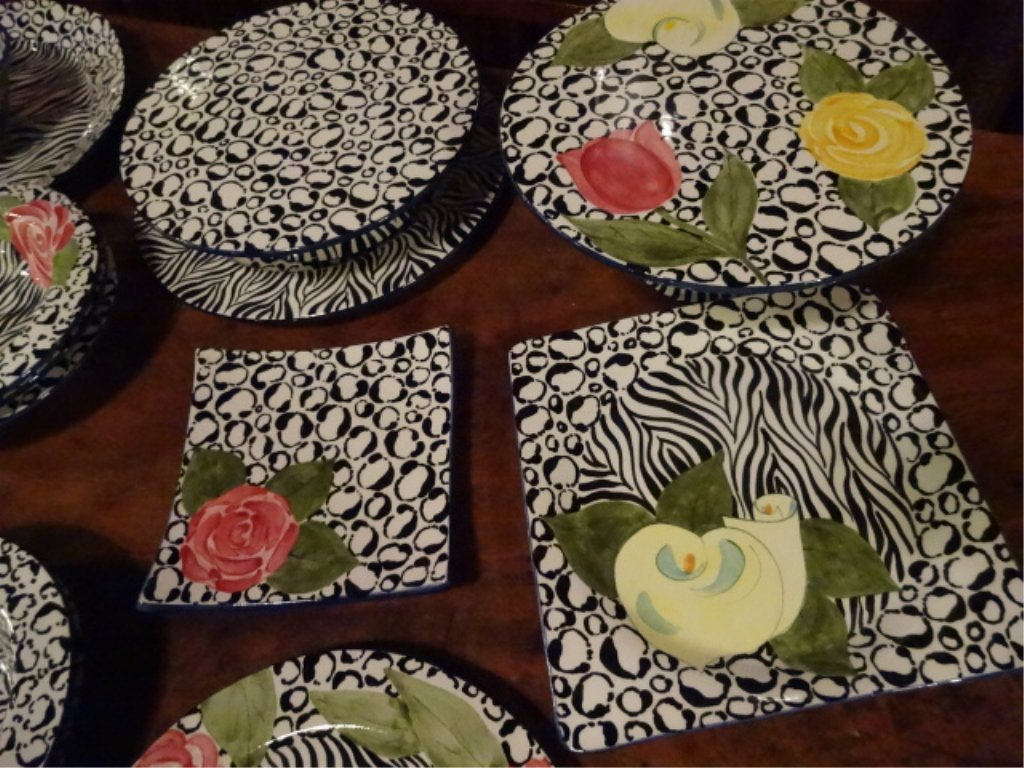 LAURIE GATES CHINA, SERENGETI PATTERN, INCLUDES 2 - 6