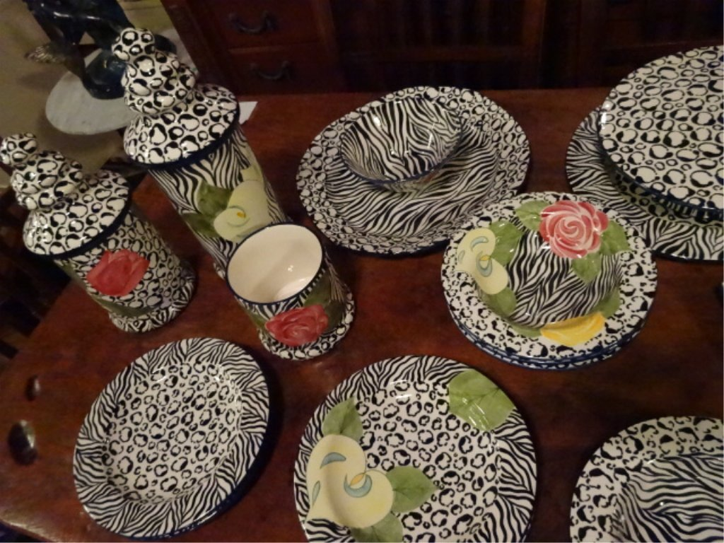 LAURIE GATES CHINA, SERENGETI PATTERN, INCLUDES 2 - 7
