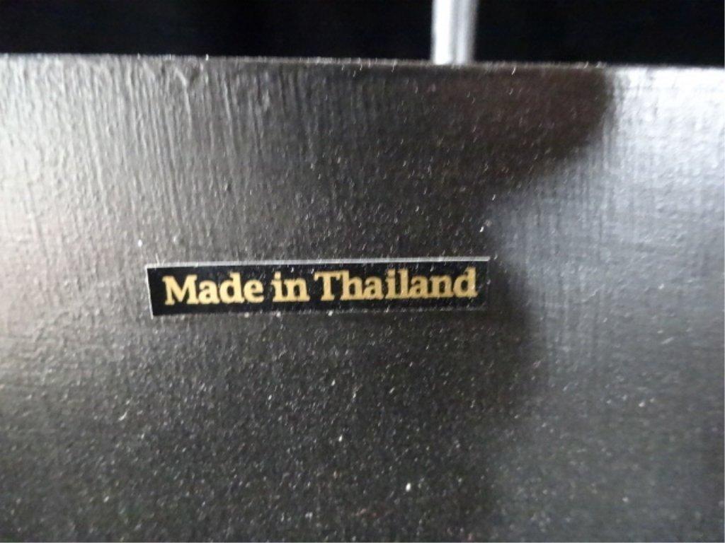 "BUDDHA HEAD SCULPTURE, MADE IN THAILAND, APPROX 27.5""H - 6"