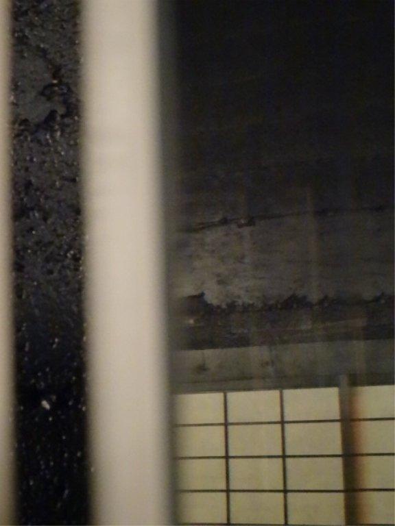 LARGE MODERN 4 PANEL MIRRORED FLOOR SCREEN, WHITE - 3