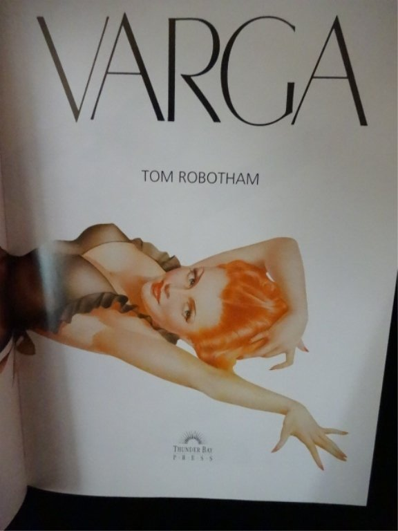2 TIM ROBOTHAM VARGA PHOTO BOOKS - 3