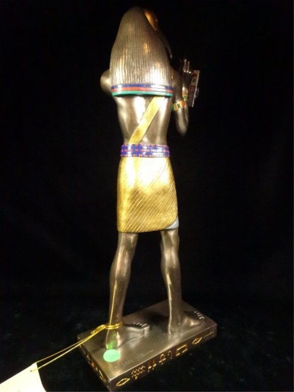 EGYPTIAN SCULPTURE, THOTH, VERONESE, CIRCA 2001, - 4