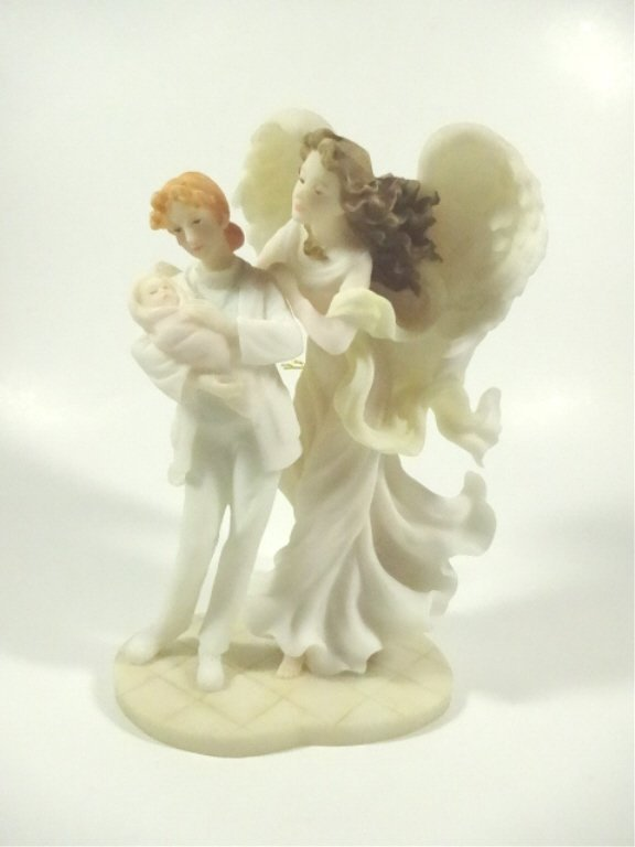 "SERAPHIM CLASSICS FIGURAL GROUP, ""CARING TOUCH"" ANGEL"