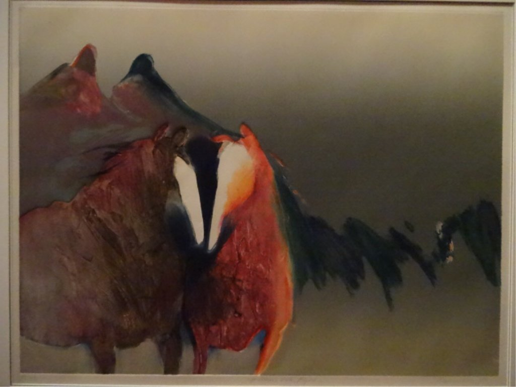 JEAN RICHARDSON SIGNED LIMITED EDITION COLLAGRAPH PRINT