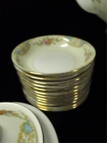 17 PC NORITAKE CHINA, INCLUDES 12 BERRY BOWLS, COVERED - 4