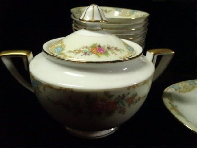 17 PC NORITAKE CHINA, INCLUDES 12 BERRY BOWLS, COVERED - 5