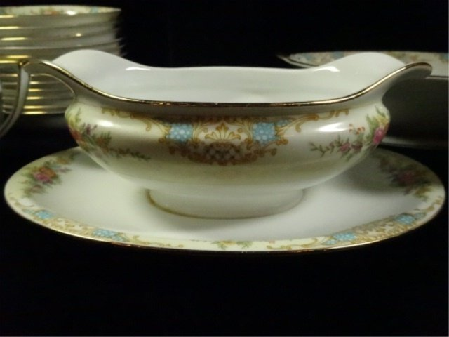 17 PC NORITAKE CHINA, INCLUDES 12 BERRY BOWLS, COVERED - 6