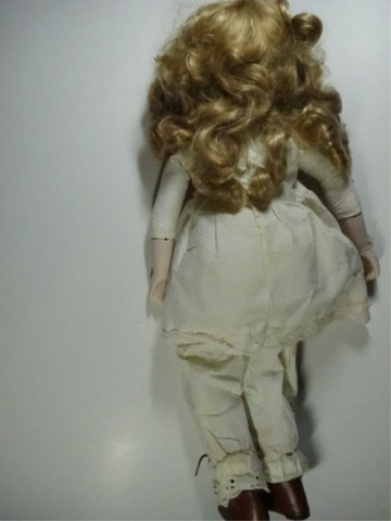 PORCELAIN HEAD DOLL, DYNASTY DOLL COLLECTION, APPROX - 3