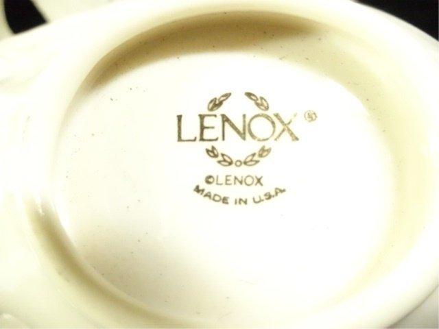 4 PC LENOX PORCELAIN, INCLUDES VERSAILLES VASE APPROX - 8