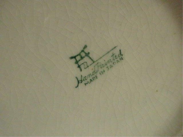 HANDPAINTED MUG, BIRD & FLORAL DESIGN, MADE IN JAPAN, - 5