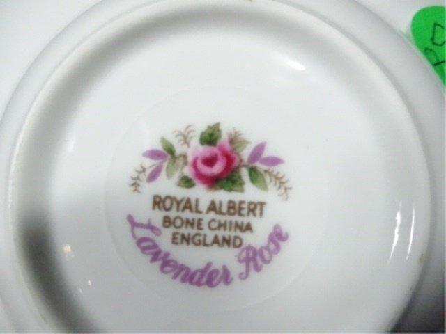 ROYAL ALBERT BONE CHINA SMALL DISH, LAVENDER ROSE - 4