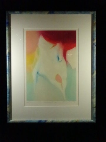 JEAN RICHARDSON LITHOGRAPH, MORNING BLAZE, LIMITED - 2