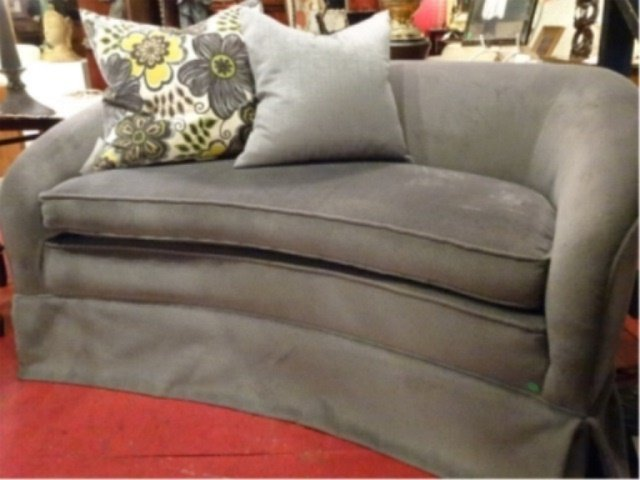 MODERN DESIGN LOVESEAT, #1 OF TWO AVAILABLE THIS