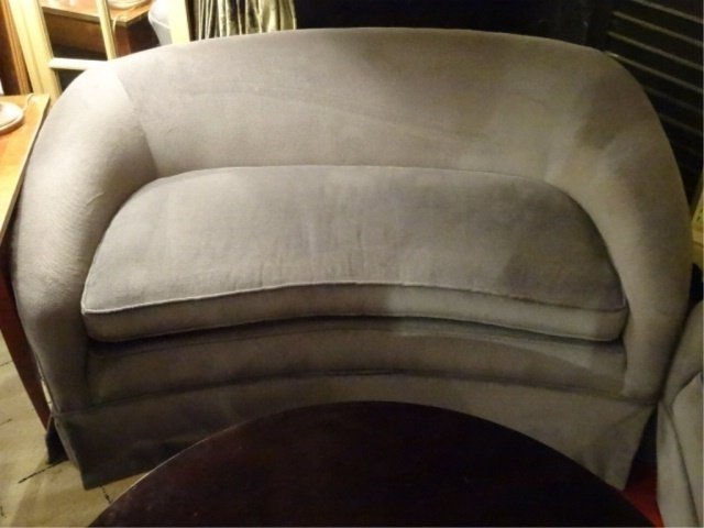 MODERN DESIGN LOVESEAT, #1 OF TWO AVAILABLE THIS - 3