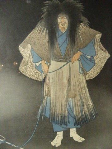 TSUKIOKA KOGYO (JAPANESE, 1869-1927) COLOR WOODBLOCK - 8