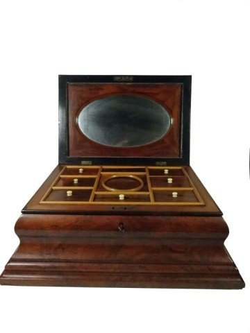 INLAID WOOD BOX, JEWELRY BOX OR SEWING CADDY, MULTIPLE