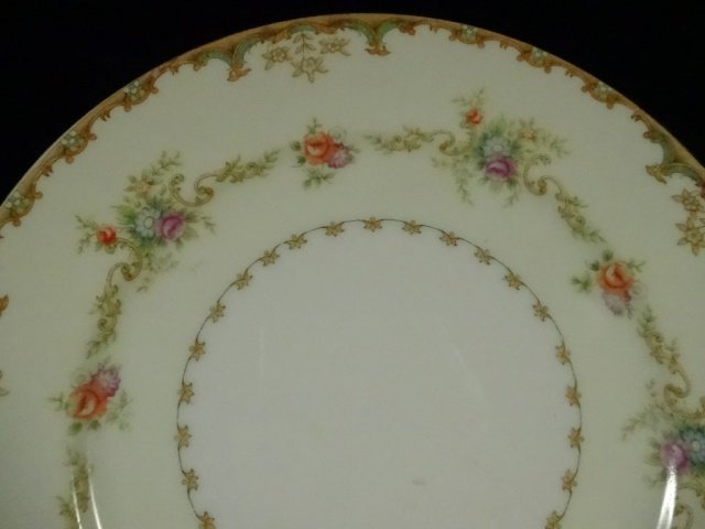 90 PC EMPRESS CHINA SERVICE FOR 12, ROSELLE PATTERN, - 4