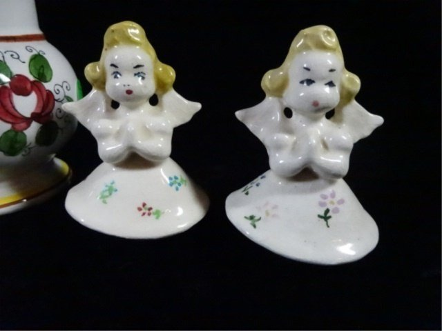 6 PC SALT & PEPPER SHAKERS, 3 PAIRS INCLUDE TALL ACSON - 6